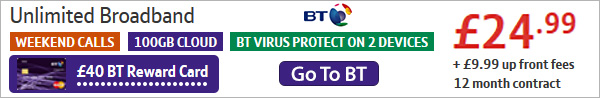 BT broadband deals at BroadbandExposed