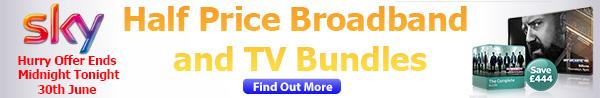 Sky broadband deals at BroadbandExposed