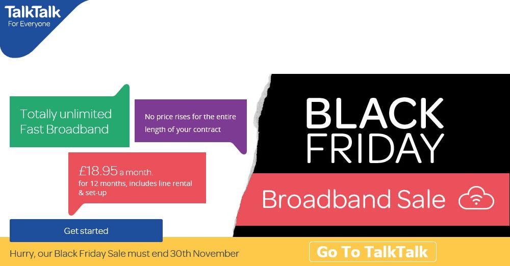 TalkTalk broadband deals at BroadbandExposed
